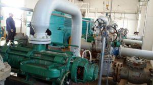 Bomba de água de vários estágios da drenagem de mineração da água do fluxo elevado principal elevado