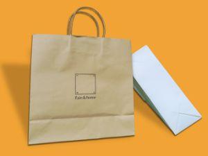 Китай производство индивидуального Kraft бумажных мешков для пыли