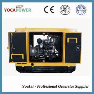 15kVA/12kw 4 치기 엔진을%s 가진 이동할 수 있는 방음 디젤 엔진 전력 발전기