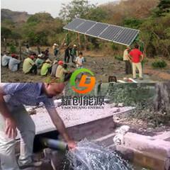 O sistema de bomba de água solares 18,5kw submergíveis de poços de perfuração da bomba de água