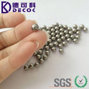 De 3,17mm 4,76mm 6,35mm 7.14mm Bola de acero inoxidable G10 para la esfera de acero 316