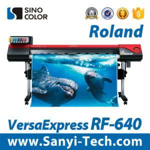 Roland Eco Solvente Impressora Digital Roland Versaexpress-640 RF, 1.6M, 1440dpi