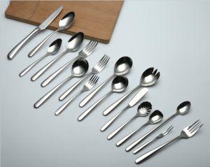 304 /18-10 talheres de aço inoxidável polido de espelho de louça de mesa (C032)