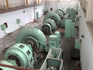 Turbine in den Kraftwerken