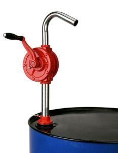 Diesel combustible de aceite de aspiración Cilindro giratorio de la bomba de mano de hierro fundido