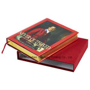 オフセットのCaseboundのハードカバーの印刷の本(OEM-HC021)