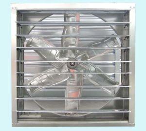 Ahorro de energía de obturador de doble ventilador de escape