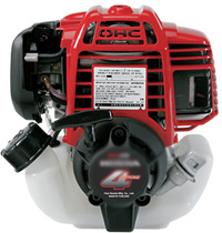 De Motor van de benzine (os-GX25)