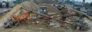 Песок делая завод, песок делая машину, песок делая линию, производственную линию песка, завод песка, завод песка моя (20-300TPH)