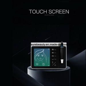 Cosmético permanente de la pantalla táctil de la máquina para tatuajes de labios cejas