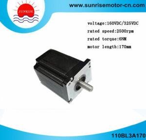 110BL3A170 1.3kw 3000rpm 6nm/Motor de CC Motor eléctrico motor de CC