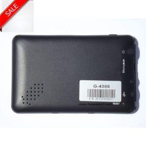 Venda de fábrica barata 4.3 Car Satnav Sistema de Navegação GPS construído em 128 MB de RAM e 8 GB de suporte para flash Bluetooth, ISDB-T; AV-in para câmara de Estacionamento Traseiro; navegação por GPS