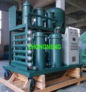 Utiliza sistema de filtración de aceite lubricante aceite, el vacío de la planta purificadora