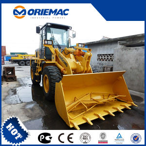 Liugong 3ton 1.8cbm Lader Clg836 van het Wiel van de Macht van de Emmer