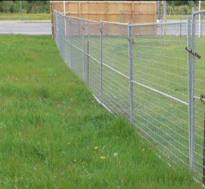 カナダのタイプ一時防御フェンスの塀のパネル