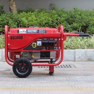 Generatore di lunga durata 2.8kw della benzina di tempo del bisonte (Cina) BS3500p (m)