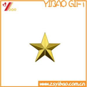 Kundenspezifisches Gold überzogener Pin 3D für Geschäfts-Geschenk