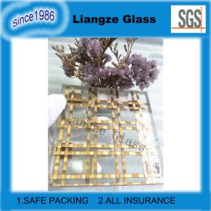 Glas van de Decoratie van het Glas van de Binnenkant van de Draad van het metaal het ultra Duidelijke