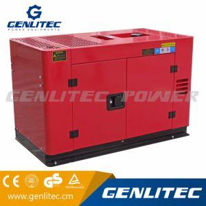 10 ква генератор с воздушным охлаждением воды двух цилиндровый дизельный двигатель