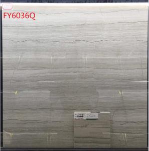600*600 Fy6036q poetste de Verglaasde Tegel van het Porselein op