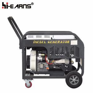Tipo de estrutura aberta Air-Cooled gerador diesel de cilindro único (DG11000E)