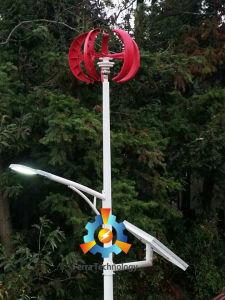 100W de verticale Turbine van de Wind van de As (het Type van Lantaarn)