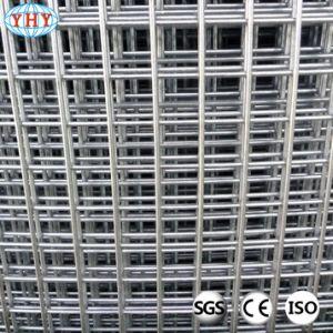 2inchは建物のための溶接された鉄条網の網パネルに電流を通した
