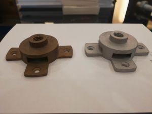 Messingterminal-Unterseite für 25*3mm das flache Band