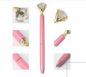 기념 선물로 큰 다이아몬드 상단 볼펜을%s 가진 새로운 디자인 수정같은 펜