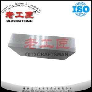 Tungsténio carboneto cimentado personalizadas da placa de linha
