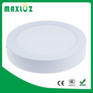 Surface Mounted AC85-265V 6W luz de tecto LED redondos