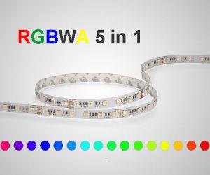 5050 RGBWA 5en1 LED 300LED luces tiras de 5m