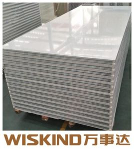 La Chine Mur d'acier polyuréthane PU panneau sandwich avec SGS