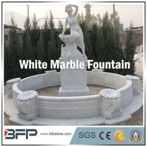 De natuurlijke Fontein van de Steen van de Steen Openlucht Witte Marmeren voor Decoratie