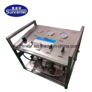 Suncenter neumáticas de alta presión de la bomba de llenado de GAS GAS