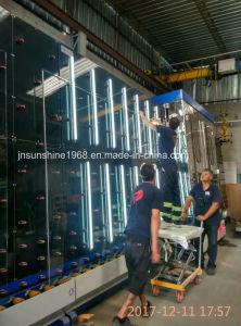 Lavatrice di vetro verticale - grande macchina di pulizia di vetro