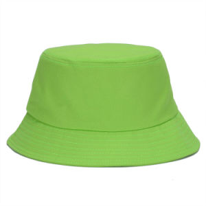형식 세계 100%Cotton 주문 로고를 가진 남녀 공통 물통 모자