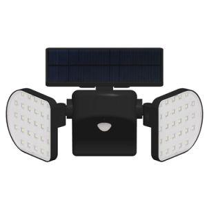 360 faire pivoter l'extérieur du capteur de mouvement d'éclairage LED Lampe Mur lumière solaire pour le jardin véranda Pathway Driveway