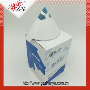 A gettare impermeabilizzare e setacci di carta della vernice della Olio-Prova