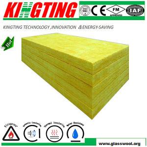 Kingting 80kg/m3 de ar condicionado o formaldeído livre Placa de Lã de Vidro