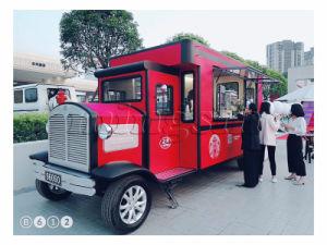 Bovenkant die de Commerciële Elektrische Vrachtwagen van het Voedsel voor Verkoop verkopen