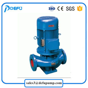 La meilleure qualité Pipeline verticale d'inondation d'appoint centrifuge Pompe à eau avec des prix bon marché