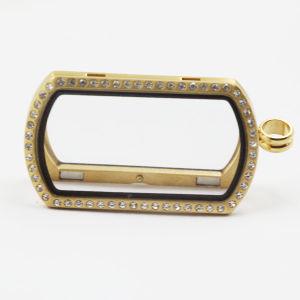 Il più in ritardo personalizzare il pendente del Locket dell'acciaio inossidabile di modo di disegno