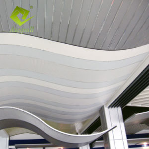 Le bâtiment de la décoration personnalisée agité en aluminium du déflecteur de la conception de plafond pour l'hôtel
