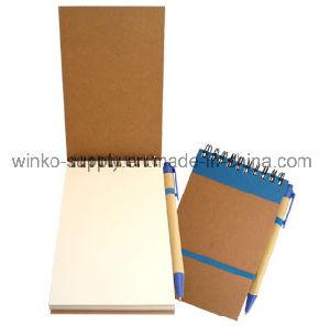 Capot du papier kraft personnalisés Eco Sticky Notes pour les fournitures de bureau