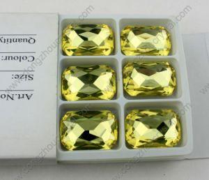 Dekoratives Dz-3008 Octagon Crystal Beads für Jewelry Accessories