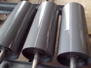 Отогните шкив, резиновые отстают головки блока цилиндров шкив на конвейер, шкив барабана