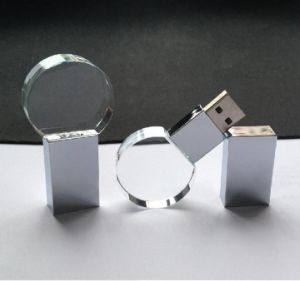 Форма мяча кристально чистый флэш-памяти USB