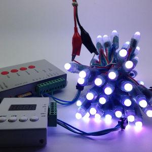 12mm Ws2811 RGB Lights IP68 Waterproof DC5V 12V Full Color String Christmas LED Light Pixel LED
