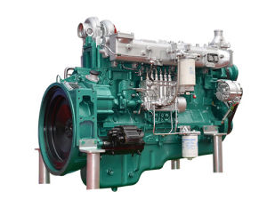 De echte Mariene Dieselmotor Yuchai Yc6m300c van de Waterkoeling